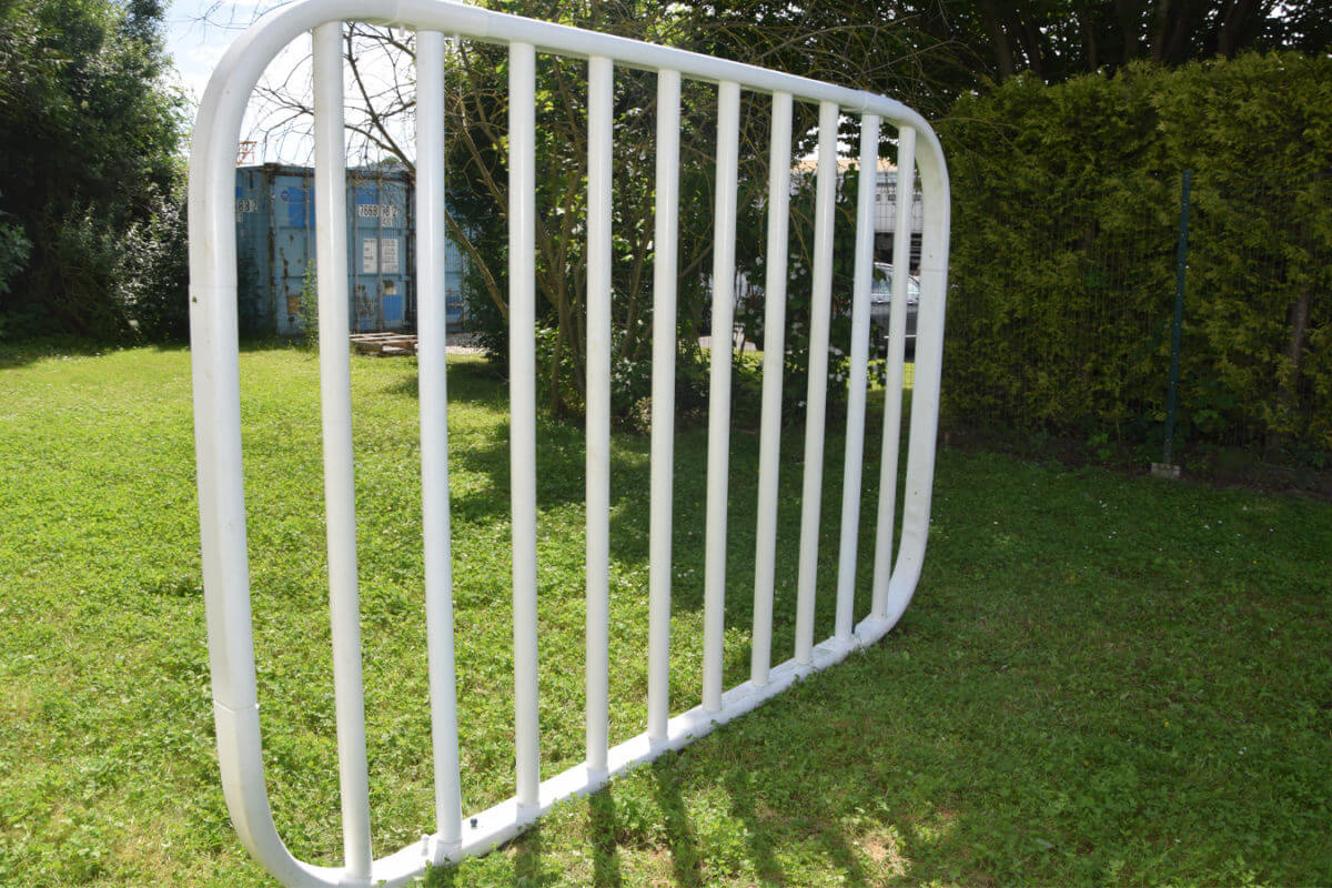 PVC Fencing Solutions 8 easyfix equine jump wings