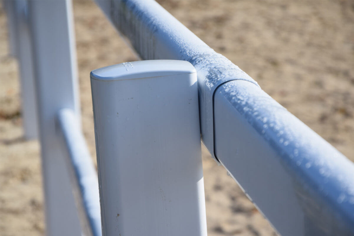 PVC Fencing Solutions 12 easyfix equine jumping paddock fence2